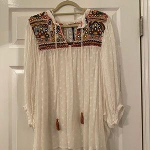 Zara Embellished top